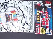 Iron Man 2 Mark V Colouring Tee With Free Sticker and Markers