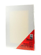 Discovery Finest Stretched Cotton Canvas white 23cm . x 30cm . each [PACK OF 4 ]