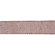 Vickerman 78140cm - 6.4cm x 10yd Red Glitter Mesh Ribbon