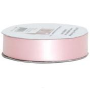 Baby Pink Satin 2.2cm thick x 25 yards Spool of Satin Ribbon - Sold individually