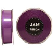 Purple Satin 2.2cm thick x 25 yards Spool of Double Faced Satin Ribbon - Sold individually