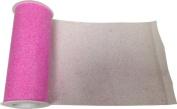 Reliant Ribbon Glitter Tulle Ribbon, Pink