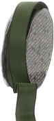 Ampelco Ribbon Company French Wired 27-Yard Taffeta Ribbon, 2.5cm , Forest Green