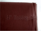 140cm X 40 Yard Wedding Tulle Brown Bolt for Wedding and Floral