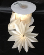 Ivory Pull Bow Ribbon for Jordan Almonds Candy Star 10 Yards