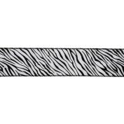 Vickerman 78030cm - 6.4cm x 10yd Zebra Velvet Ribbon
