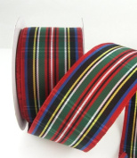 McDuff Wired Multi Colour Ribbon 3.8cm - 10 Yards