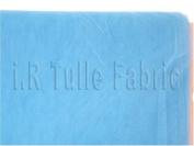 140cm X 40 Yard Wedding Tulle Smoke Blue Bolt for Wedding and F