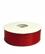 Red Double Face Satin Ribbon, 3.8cm x 50yd
