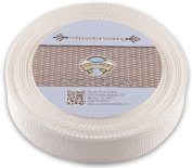 Country Brook Design® 3.8cm White Polypro Webbing, 50 Yards