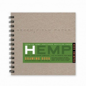 Hemp Drawing Book, Medium 18cm x 18cm