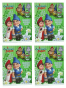Gnomeo And Juliet the Movie Reusable Sticker Book (4 Pack) # 42849-4pk