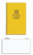Rite in the Rain 390F All-Weather Bound Journal Book w/ Fabrikoid (yellow) Cover 12cm x 19cm