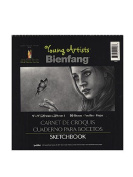 Bienfang Young Artists Sketchbooks 23cm . x 23cm . 50 sheets [PACK OF 6 ]