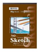 Premium Sketch Spiral Side Big Book