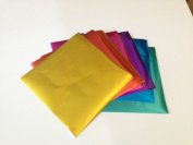 Foil Metallic Origami Paper - 30 Sheets in 10 Colours