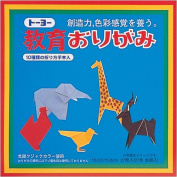 Toyo Education Origami Paper, 15cm, 27 Colours, 27 Sheets