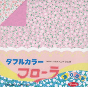 Origami Paper Double Sided Colour Flora