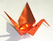 Thin Orange Foil - 3.5 in (8.8 cm) 100 Sheets