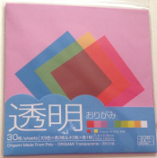 30 Sheets Origami 'Paper' Made From Poly