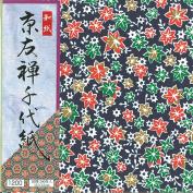 Chiyogami High Quality Ehime Shiko Yuzen Chiyogami 200pcs 15㎝×15㎝ Hosho Paper Ky-12015