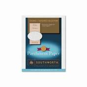 Southworth Products - Southworth - Fine Parchment Paper, 32 lbs., 8-1/2 x 11, Ivory, 250/Box - Sold As 1 Box - Adds an old-world elegance to your communications. - Ideal for awards, certificates, invitations and more. - Acid-free for archival quality. ..
