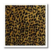 Lee Hiller Designs RAB Rockabilly - RAB Rockabilly Metallic Gold and Black Leopard Print - Iron on Heat Transfers