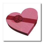 Boehm Graphics - Heart Shaped Box of Chocolates - Iron on Heat Transfers