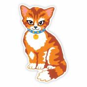Colour & Shape Paint By Number Kits 25cm x 33cm -Cat