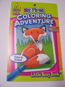 School Zone My First Colouring Adventure Colour by Shape, Number and Letter Activity Pad ~ A P-K School Little Busy Book