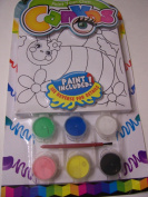 Paint Your Own Canvas Craft Kit ~ Beautiful Bee and Flowers
