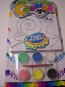Paint Your Own Canvas Craft Kit ~ Happy Snail in Top Hat