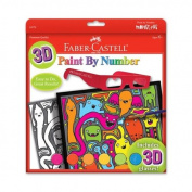 Faber Castell - Paint by Number - 3-D Monster Pop