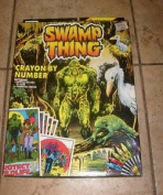 Swamp Thing Crayon by Number