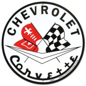 Chevrolet Corvette Metal Sign
