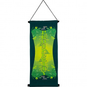 The New Age Source Small Banner Prosperity Green Each