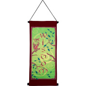 The New Age Source Small Banner Wisdom Marron Each