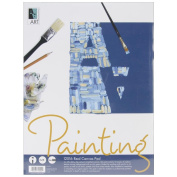 Canvas Pad- 30cm x 41cm with 10 Sheets