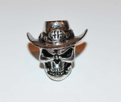 The Cowboy From Hell Paracord Bead