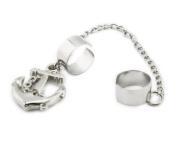 1pcs . Antique Punk Anchor Gothic Tassels Drop Chain Ear Cuff Stud Clip Earrings for Women