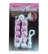 Jef World of Golf Gifts and Gallery, Inc. Pink Scoring Beads