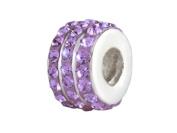 SilveRado (tm) BM007-7 Bling-Triple Bling Purple