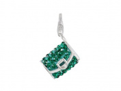 SilveRado (tm) VRB323-5 Verado Bling-Clutch on Me-Green