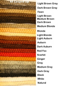 Crepe Wool Hair- Scarlet Colour for Doll Making or Theatrical Uses
