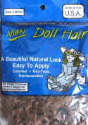 Maxi Craft DOLL HAIR 40ml Pack (Covers 2 Sq. Ft.) CHOCOLATE Colour