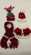 Teddy Bear/doll Sweater Clothes Outfits Small Size- 4 Pieces Set