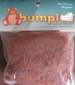 One & Only BUMPLES BUMPY DOLL HAIR Pack 30ml RUST Colour