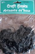 ENVI Craft Basics CURLY DOLL HAIR Pack .1480ml (14 Grammes) BLACK Colour
