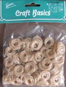 ENVI Craft Basics CURLY DOLL HAIR Pack .1480ml (14 Grammes) LIGHT CINNAMON BROWN (Beige.) Colour