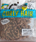 One & Only Craft 'MINI CURL' CURLY DOLL HAIR Pack .1480ml AUTUMN & STRAWBERRY Colour TWO TONE DOLL HAIR